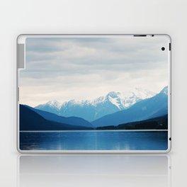 The Blue Misty Mountain Laptop & iPad Skin