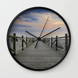 "The path..., the beach II .... ""Artola"". Wall Clock"