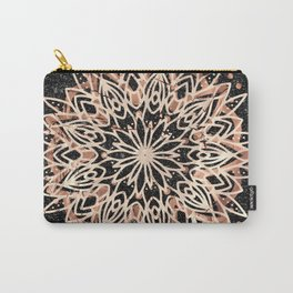 Metallic Mandala Carry-All Pouch