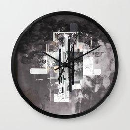 """Hennepin"" Graphic Art Print Wall Clock"