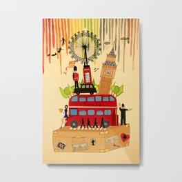 Rainbow Cities ~ London Metal Print
