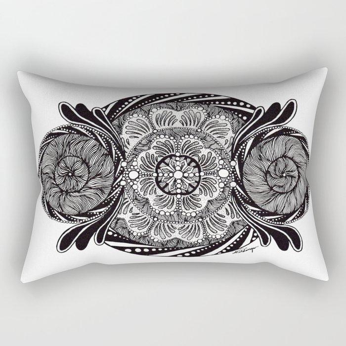 DUALISM Rectangular Pillow