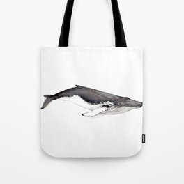 Humpback whale for whale lovers Tote Bag