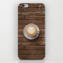 Coffee & Wood iPhone Skin