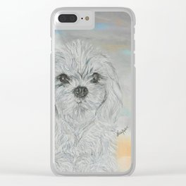 FURever An ANGEL Clear iPhone Case