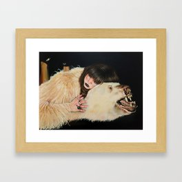 Sleeping with the Enemy Framed Art Print