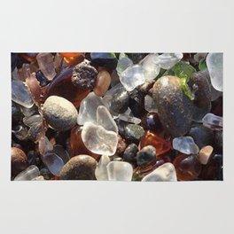 Glass beach California Rug