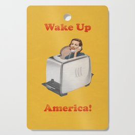 Wake Up Call Cutting Board