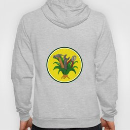 Agave With Hammer Spanner Pliers Water Color Hoody