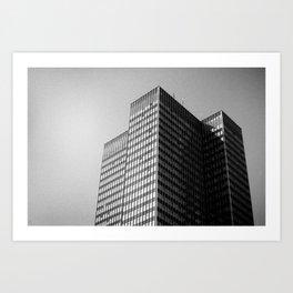 Euston Tower Art Print