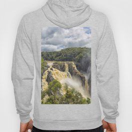 Beautiful wild waterfall Hoody