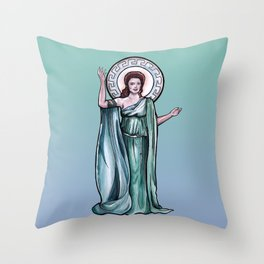 Goddess of Empathy Throw Pillow