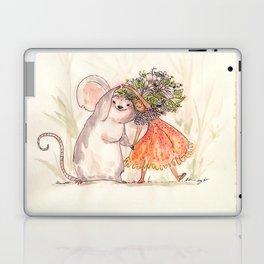 Thumbelina and the Mouse! Laptop & iPad Skin