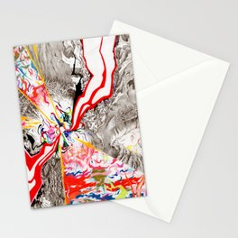 Eye see that Eye can Create (Untitled Face I) Stationery Cards