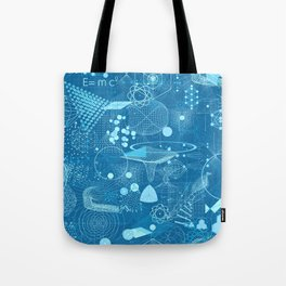 Science Schemes Pattern Tote Bag