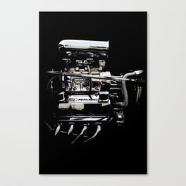1932 Ford Hot Rod - Engine Canvas Print
