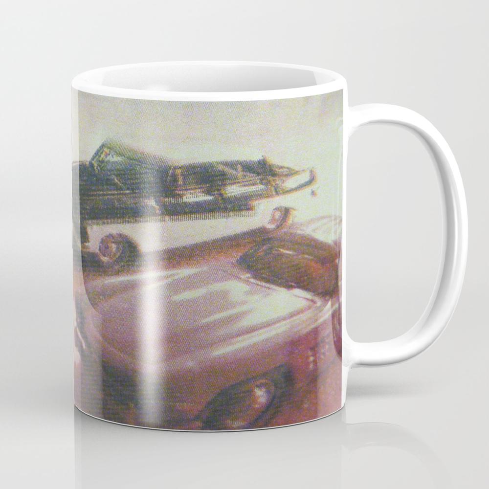 Retro Cars Tea Cup by Calaglatz MUG968932