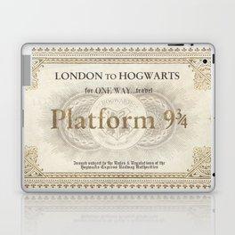 Platform 9 3/4 ticket Laptop & iPad Skin