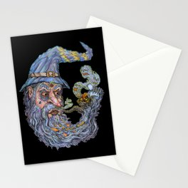 Wizard: Smokin' Bowls And Takin' Souls Stationery Cards