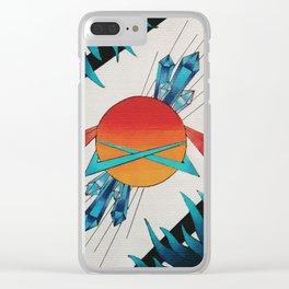 GALACTICA Clear iPhone Case