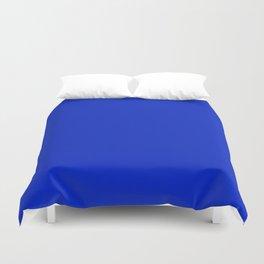Solid Deep Cobalt Blue Color Duvet Cover
