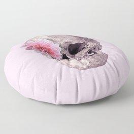 FLOWER SKULL Floor Pillow