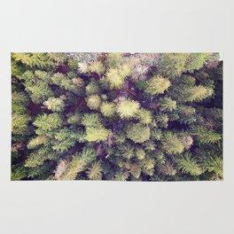 Aerial Wilderness Rug