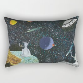 Nothingness is Everything Rectangular Pillow