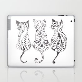 Trio of Cats Laptop & iPad Skin