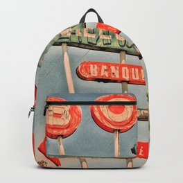 Freeway Lanes Bowl - Selma, CA Backpack