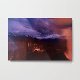 metallic-effects Metal Print