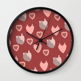 An Ardent Heart Wall Clock