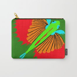The Spectacular Flying Fish Carry-All Pouch