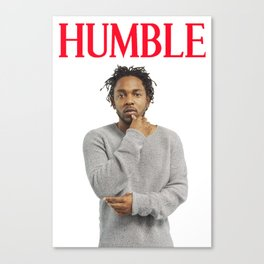 Kendrick Lamar  HUMBLE Canvas Print