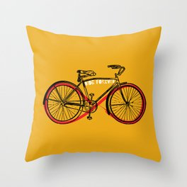 ride forever Throw Pillow