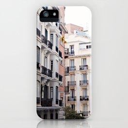 Madrid // Malasaña iPhone Case