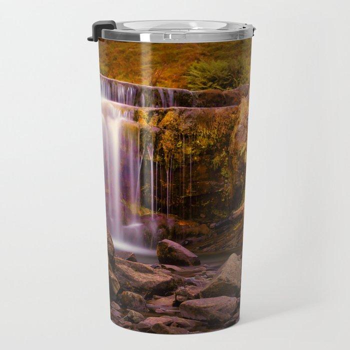 Pen-y-fan waterfall Travel Mug