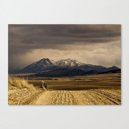Mountain Road Photograph Canvas Print