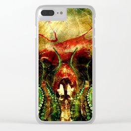 Cthulhu Clear iPhone Case