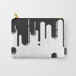 Melting black stuff Carry-All Pouch