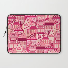 Pink Little Town Laptop Sleeve
