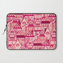 Pink Little Town Laptop Sleeve