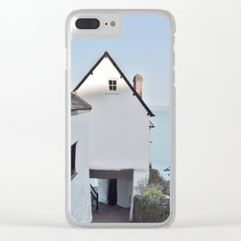 TEMPLE BAR CLOVELLY NORTH DEVON Clear iPhone Case