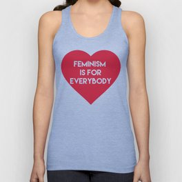 Feminism is for Everybody Unisex Tank Top