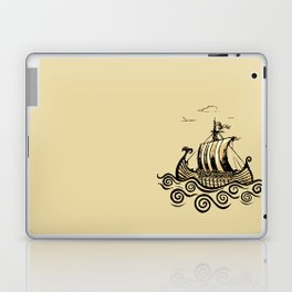 Viking ship 2 Laptop & iPad Skin