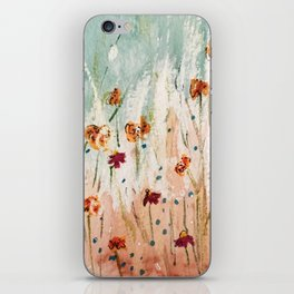Tiger Lilies, Coneflowers, & Those Blue Things iPhone Skin