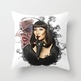 The Witches Throw Pillow