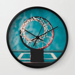 basketball hoop 6 Wall Clock