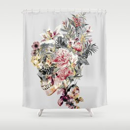 SKULL XII Shower Curtain