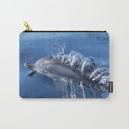 Dolphins and bubbles Carry-All Pouch